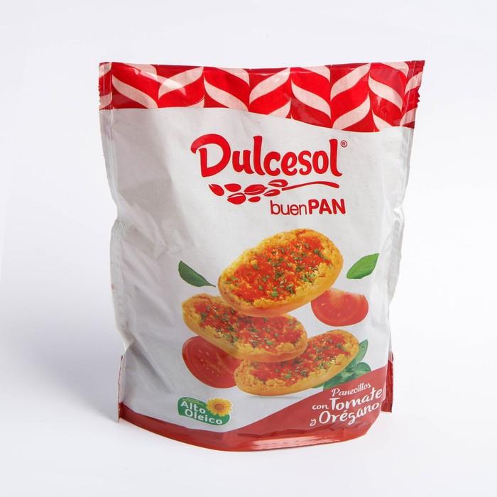 Хрустящие хлебцы Dulcesol Buen Pan с томатом и орегано 160г - фото 23196