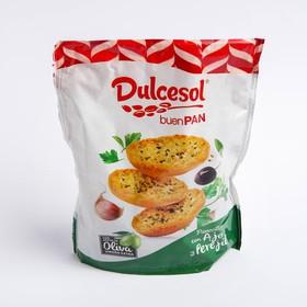 Хрустящие хлебцы Dulcesol Buen Pan с чесноком 160г