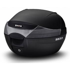 Кофр пластиковый задний SH33, 33 л, чёрный