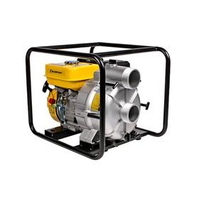 Мотопомпа бензиновая CHAMPION GTP80, для грязной воды, 7 л.с., 5.15 кВт, d=76 мм, 1300 л/мин   50092