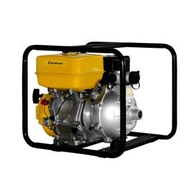 Мотопомпа бензиновая CHAMPION GHP40-2, 4Т, 9 л.с., 6.7 кВт, d=40 мм, 225 л/мин, 2/77.5 м