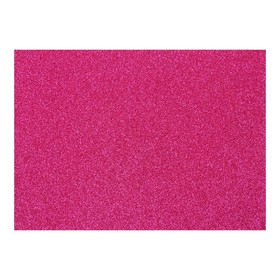 Картон дизайнерский Glitter (с блестками) 210 х 297 мм, Sadipal 330 г/м², фуксия, цена за 3 листа