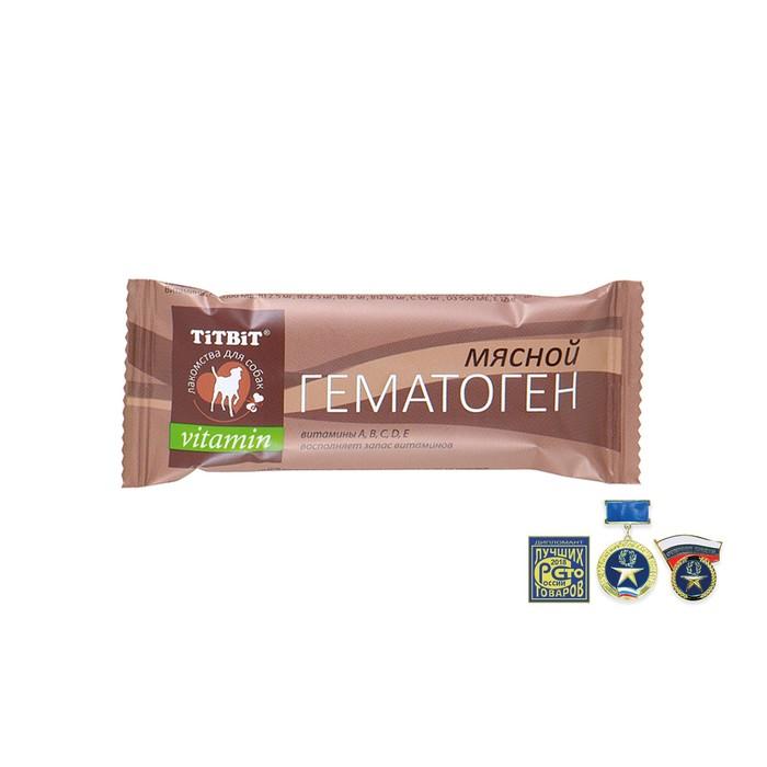 Гематоген Titbit мясной витаминный, 35 г
