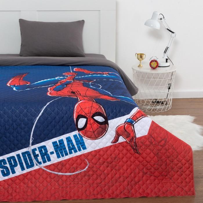 "Покрывало ""Человек паук"" 1,5 сп, 145х210 см, микрофибра"