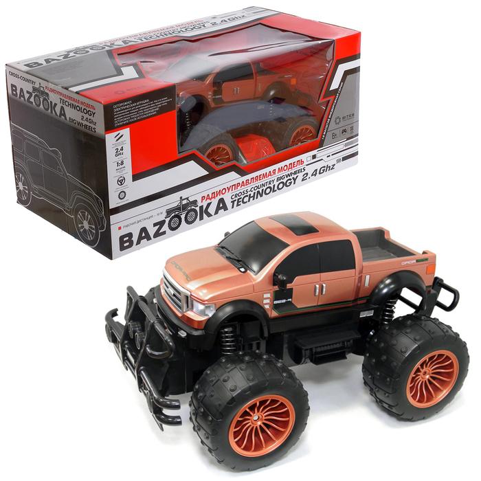 Уценка Машина Bazooka на радиоуправлении, 2WD, 1:8, цвет красный