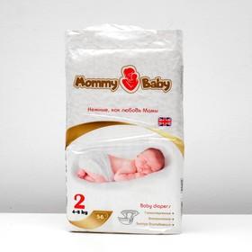"""Подгузники """"MOMMY BABY""""  размер S"""