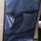Органайзер под планшет на спинку сиденья автомобиля, оксфорд, 30х55, цвет серый - фото 7461694