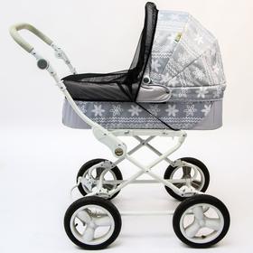 Москитная сетка на коляску, 60х100, цвет черный