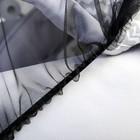 Москитная сетка на коляску, 90х100, цвет черный - фото 105545896