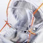 Дождевик на коляску люльку, ПВД кристалл - фото 105546238