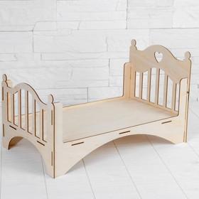 Кровать кукольная «Принцесса»