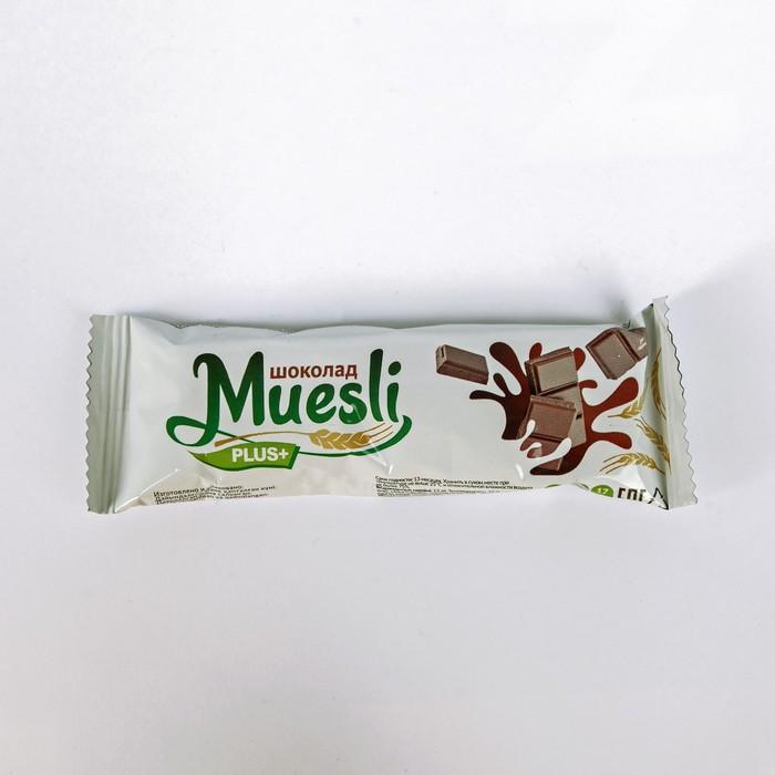Matti батончик-мюсли+ Шоколад 24 гр ш-б 36шт. - фото 15845