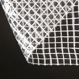 Плёнка полиэтиленовая, армированная, толщина 200 мкм, 4 × 10 м, белая