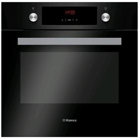 Духовой шкаф Hansa BOES68411, электрический, 65 л, 8 режимов, дисплей, чёрный