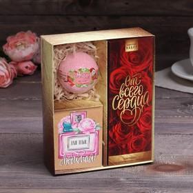"Gift set ""the Best wife"" (award, salt, postcard)"