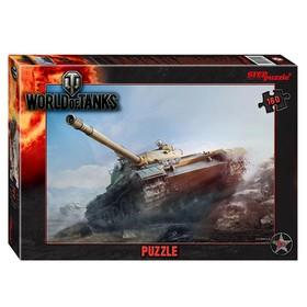 Пазл 160 элементов World of Tanks