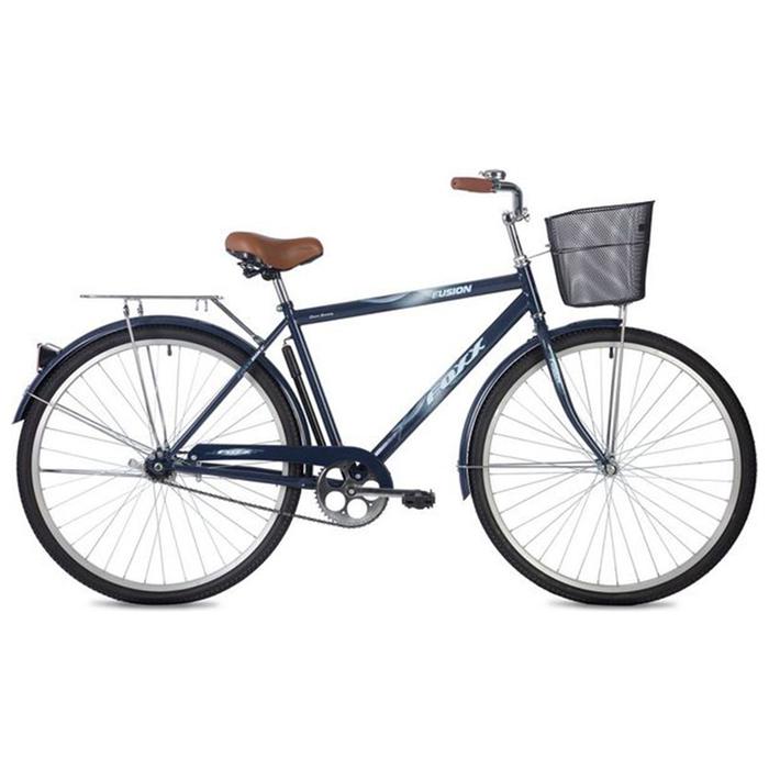 """Велосипед 28"""" Foxx Fusion, 2020, цвет синий, размер 20"""""""
