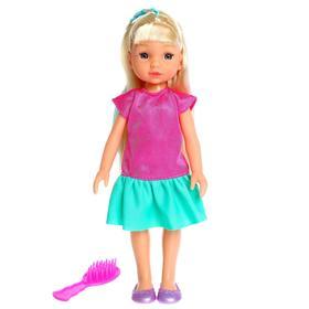 Кукла классическая «Анна» с расчёской, МИКС