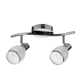 Chandelier spot 8371/2 2x60W E27 chrome / white