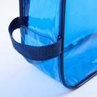 Набор сумок в роддом, 3 шт., цветной ПВХ, цвет синий - фото 105543143