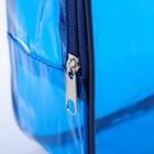 Набор сумок в роддом, 3 шт., цветной ПВХ, цвет синий - фото 105543144