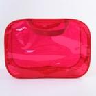 Сумка в роддом 23х32х17, цветной ПВХ, цвет красный - фото 105543445