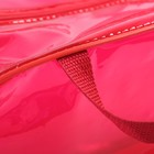 Сумка в роддом 23х32х17, цветной ПВХ, цвет красный - фото 105543446