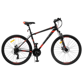 """Велосипед 27,5"""" Stels Navigator-700 MD, F010, цвет черный/красный, размер 21"""""""