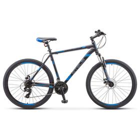 "Велосипед 29"" Stels Navigator-900 MD, F010, цвет серый/синий размер 21"""