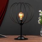 Настольная лампа 3604 1хE27 60Вт черный - фото 7931767