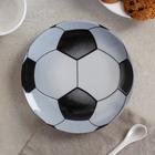 Тарелка мелкая «Матч», d=17,5 см, рисунок МИКС - фото 7416857