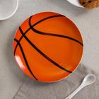 Тарелка мелкая «Матч», d=17,5 см, рисунок МИКС - фото 7416859