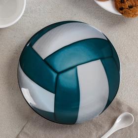 Тарелка мелкая «Матч», d=17,5 см, рисунок МИКС - фото 7416861
