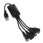 Разветвитель USB (Hub), 4 порта, USB 2.0