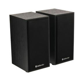 Компьютерные колонки 2.0 Defender SPK 240, 2x3 Вт, USB, чёрные Ош
