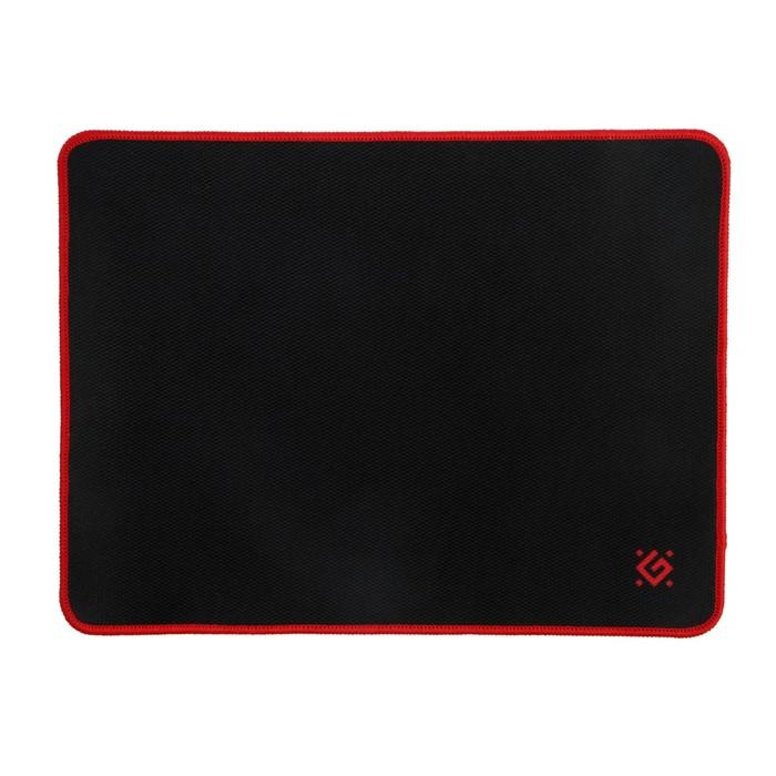 Коврик для мыши Defender Black M, игровой, 360x270x3 мм, чёрно-красный