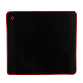 Коврик для мыши Defender Black XXL, игровой, 400x355x3 мм, чёрно-красный