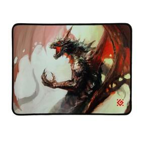 Коврик для мыши Defender Dragon Rage M, игровой, 360x270x3 мм, ткань + резина