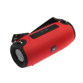 Портативная колонка Defender Enjoy S900, 10 Вт, Bluetooth 5.0, 1200 мАч, FM/USB/AUX, красная
