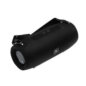 Портативная колонка Defender Enjoy S900, 10 Вт, Bluetooth 5.0, 1200 мАч, FM/USB/AUX, чёрная