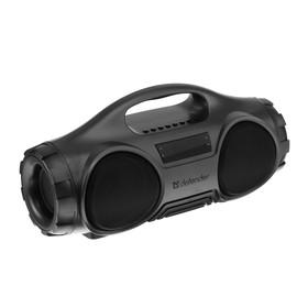 Портативная колонка Defender G100, 16 Вт, Bluetooth 5.0, 1800 мАч, FM/SD/USB, серая