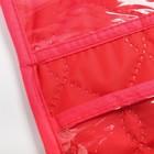Органайзер на кроватку,размер 47*55,оксфорд,чтежка,цв.красный - фото 105549687