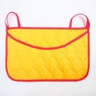 Organizer to the crib,the size 47*30,Oxford,ctica,Col.yellow