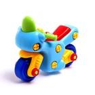 Конструктор для малышей «Мотоцикл», 27 деталей - фото 105577552