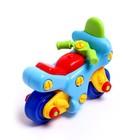 Конструктор для малышей «Мотоцикл», 27 деталей - фото 105577554