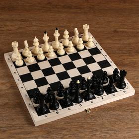 "Шахматы ""Айвенго"" (доска дерево 40х40 см, фигуры пластик, король h=10 см)"