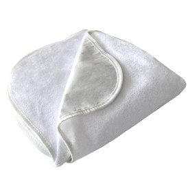 Наматрасник водонепронецаемый на резинке 140х200 см, белый, хл.80%, пэ 20%