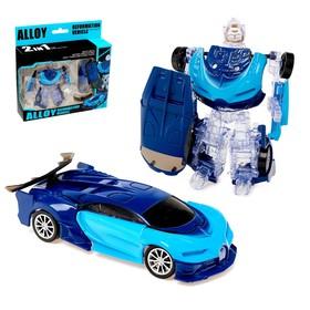 "Robot transformer ""Chiron"", with metallic elements"