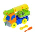 Конструктор для малышей «Кран», 36 деталей - фото 76296853