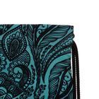Мешок для обуви, 440 х 365 мм, Erich Krause, Paisley Style, со светоотражающими элементами